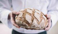 Algist Bruggeman Livendo Droge desems man met brood