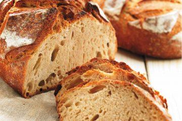 Algist Bruggeman Crème de Levain pain coupé