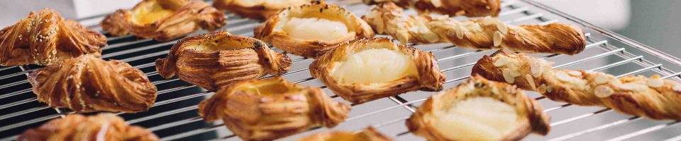 Algist Bruggeman Croustilis Luxe gebakjes op rooster