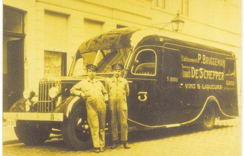 Algist Bruggeman notre histoire transport